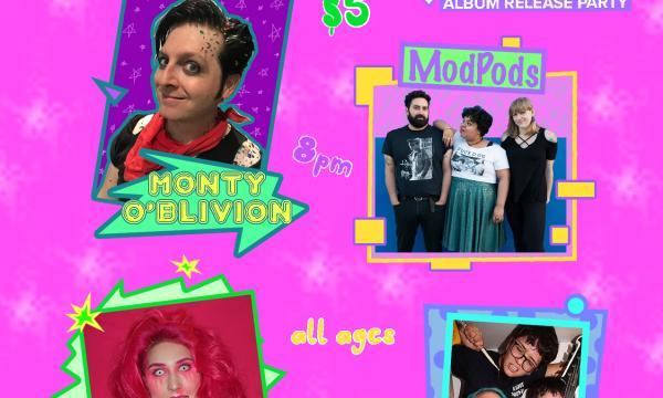 Autonomously Yours Album Release Party Graphic