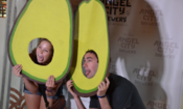 Avocado Fest Photo Booth