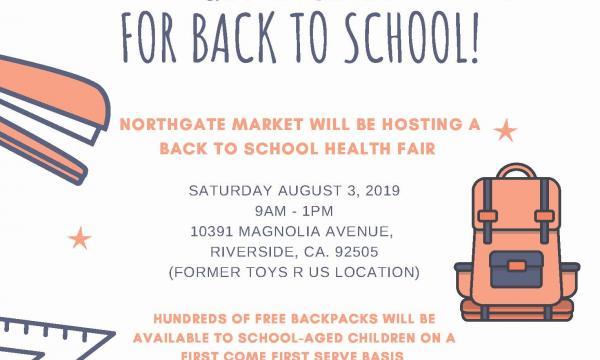 Northgate González Market Back to School Health Fair