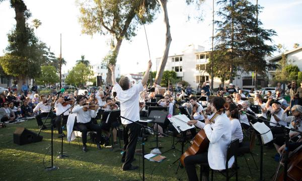 """""""Meet Me at Reed"""" with the Santa Monica Symphony"""