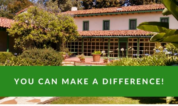 Rancho Los Cerritos invites interested persons to attend its upcoming Volunteer Open House on Thursday, September 5th from 10-11:30 a.m. (Photo of the Rancho's Adobe and inner courtyard)
