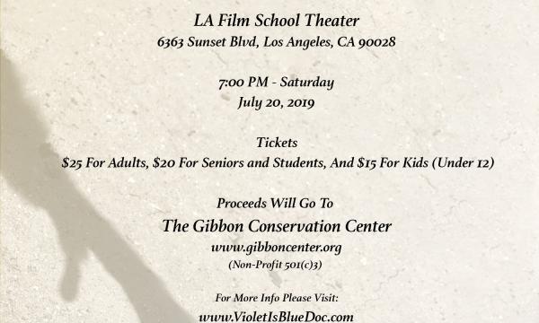 Violet Is Blue - Screening and Reception - July 20, 2019, 7:00 PM
