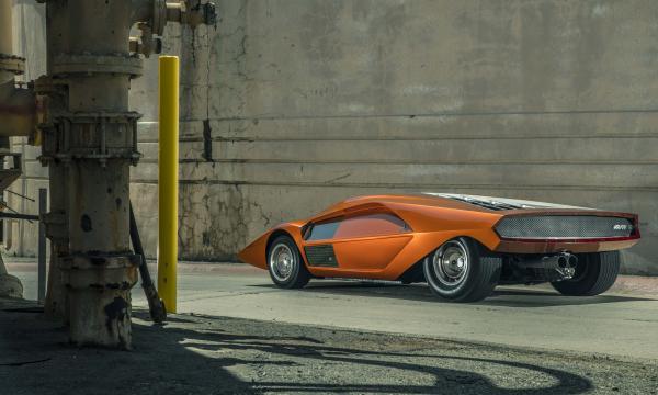 1970 Lancia Stratos Zero / Design: Marcello Gandini for Bertone / Owner: Phillip Sarofim / Photo: Evan Klein