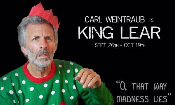 King Lear poster graphic
