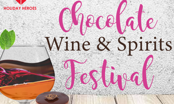 Join us for the Los Angeles Chocolate, Wine & Spirits Festival!
