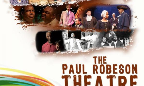 Poster graphic for Paul Robeson Theatre Festival