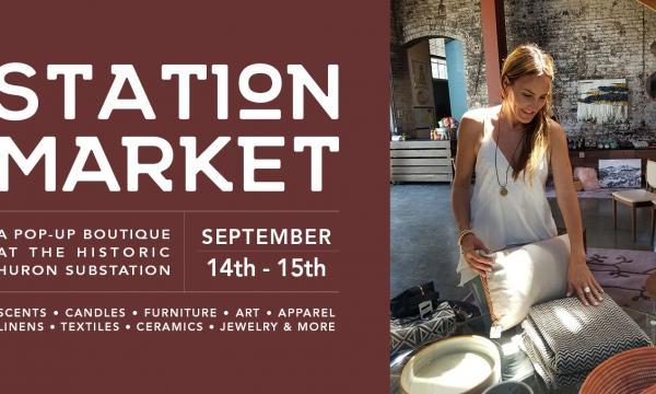 Station Market at the Historic Huron SubStation