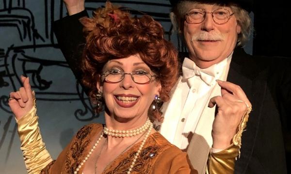 Evelyn Rudie and Chris DeCarlo star in Aleichem Sholom