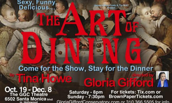 """Poster graphic for """"The Art of Dining"""""""