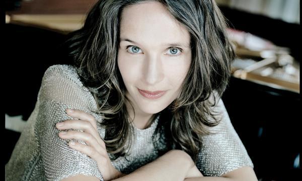 Hélène Grimaud photographed by Mat Hennek