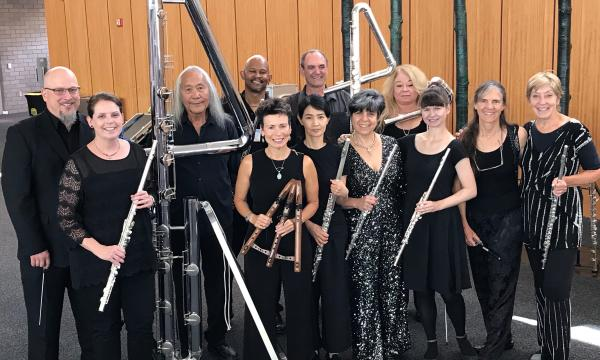Los Angeles Flute Orchestra with Ali Ryerson