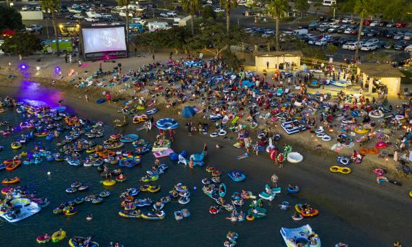 Newport Dunes' Movie on the Bay