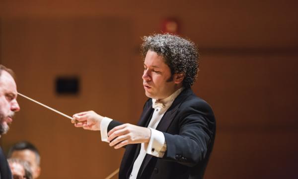 Gustavo Dudamel photographed by Sam Comen