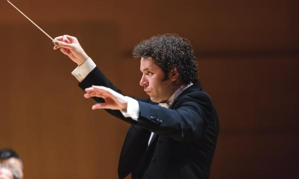 Gustavo Dudamel photographed by Sam Comen