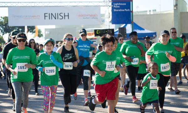 This festive run/walk is a celebration of the strides the disability community has made to help change the way the world defines disability, and in shaping a future where people of all abilities feel 100% included and 100% empowered.