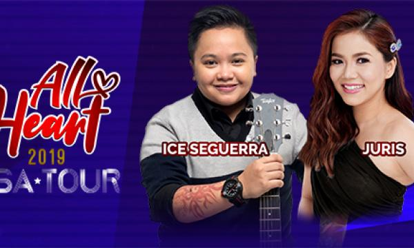 ICE SEGUERRA and JURIS - ALL HEART CONCERT - LOS ANGELES