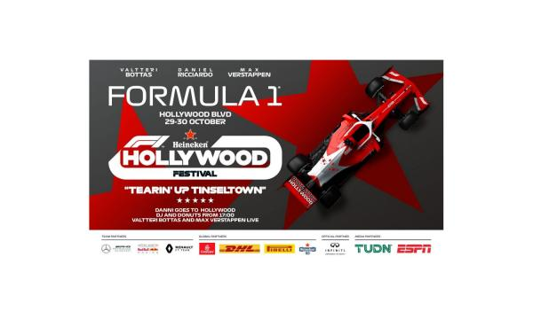 Main image for event titled F1 Hollywood Festival (OPENING DAY)