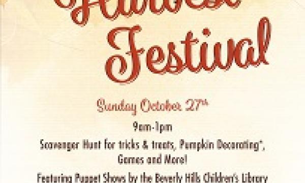 Beverly Hills Farmers Market Fall Harvest Festival
