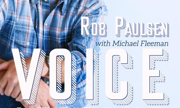 Voice Lessons by Rob Paulsen Book Cover