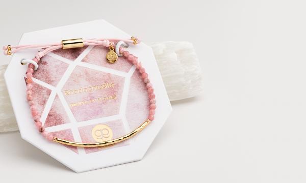 gorjana rhodochrosite Power Gemstone bracelet