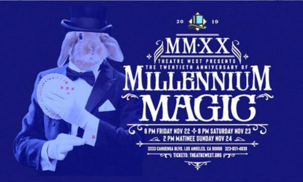 Come see magicians from the Magic Castle at Theatre West!