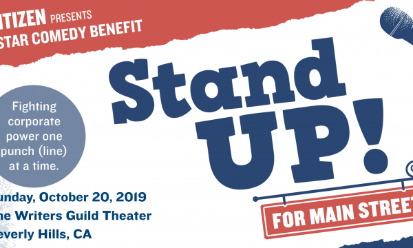 Stand Up! For Main Street Comedy