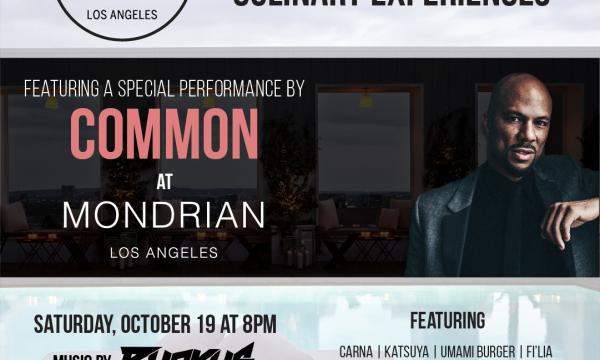 Taste of sbe LA with Common