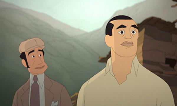 BUÑUEL IN THE LABYRINTH OF THE TURTLES - Presented with the support of Animation Is Film