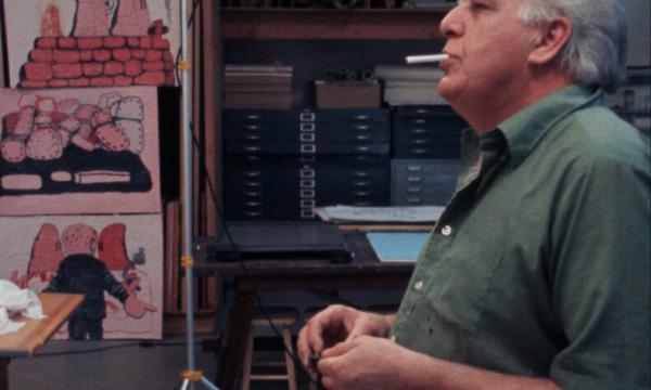 Photo: 'Philip Guston: A Life Lived' (1981), dir. Michael Blackwood, produced by Michael Blackwood Productions