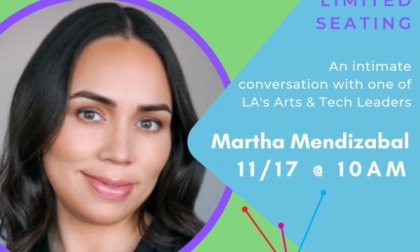 EAL/LA Coffee Conversations w/ Martha Mendizabal, 11/17 @ 10am
