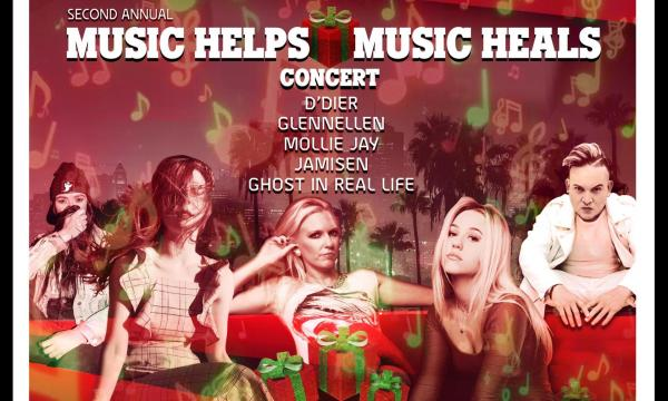 2nd Annual Music Helps, Music Heals