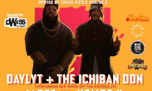 PayDay LA 11.26 w/ Daylyt + the Ichiban Don Flyer