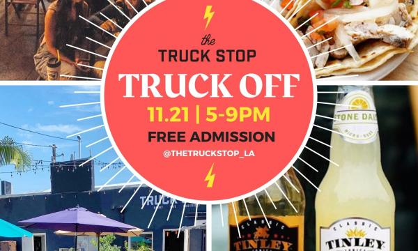 Main image for event titled  TRUCK OFF: Food Truck Competition