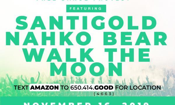 Amazon Uprising location, date, time, artist information