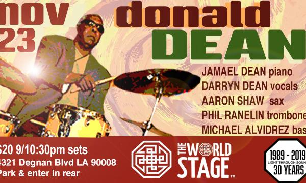 Donald Dean and his band!