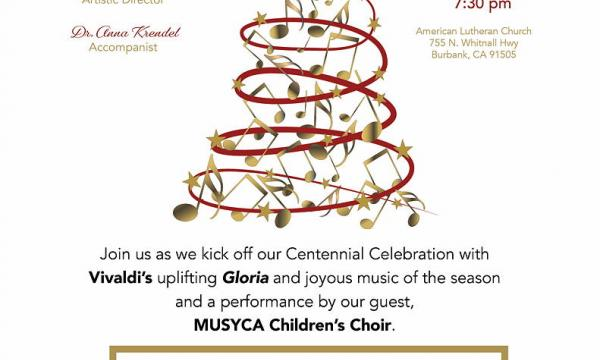 Glorious Celebration! Holiday Concert Featuring Vivaldi's Gloria
