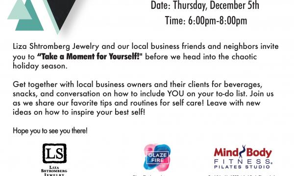 TAKE A MOMENT FOR YOURSELF! In-Store Event at Liza Shtromberg Jewelry,undefined