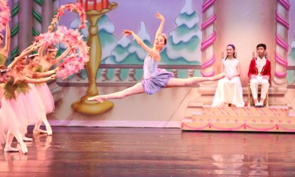 Clara and her friends will take you on an enchanting voyage to meet magical mice, marching soldiers, swirling snowflakes, waltzing flowers and the beautiful Sugar Plum Fairy.