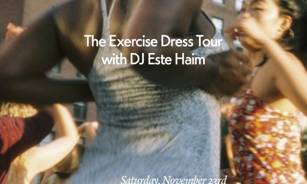 OV Exercise Dress Tour in LA on 11/23