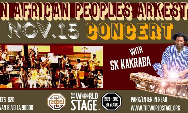 Pan African Peoples Arkestra with SK KAKRABA