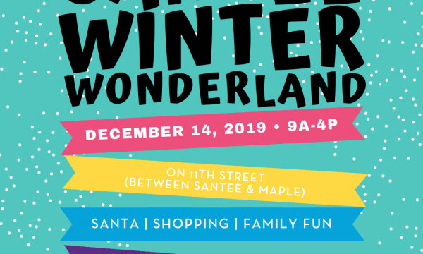 Santee Winter Wonderland flyer