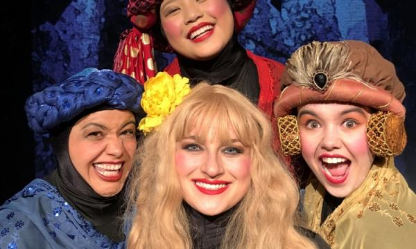 Cinderella and her Storybook Friends ask you to save the fairytale world