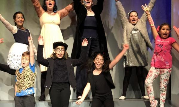 Santa Monica Playhouse Spring Workshops - students perform an original play