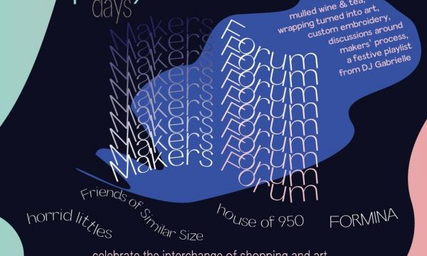 Play DAYS: Makers Forum