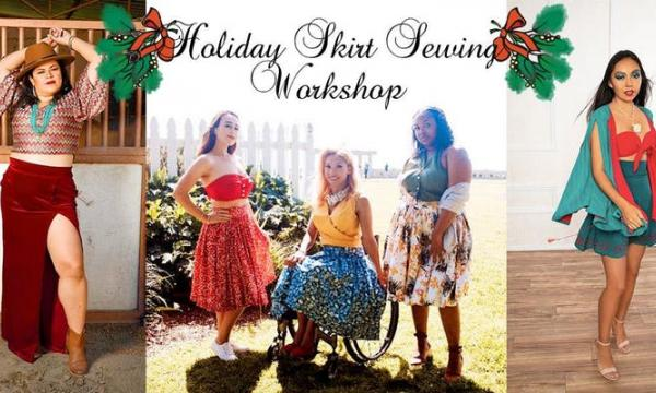 Holiday Skirt Sewing Workshop