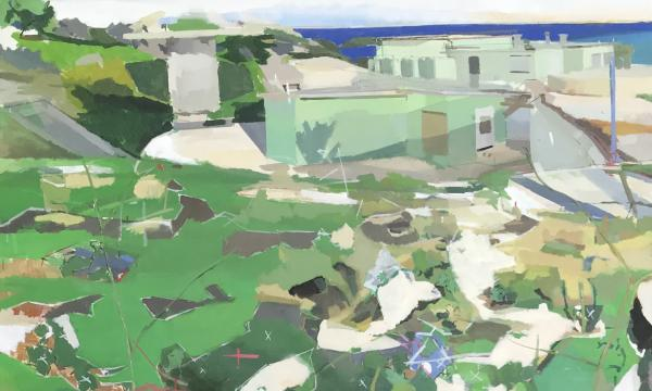 Adam Harrison, A View of Bunker Hill, 2019 (Detail)