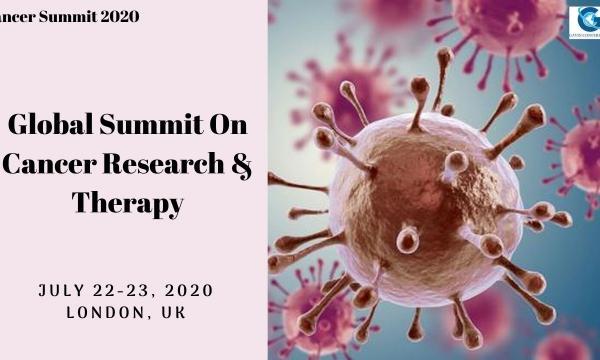 Cancer Summit 2020: July 22-23, 2020, London,UK