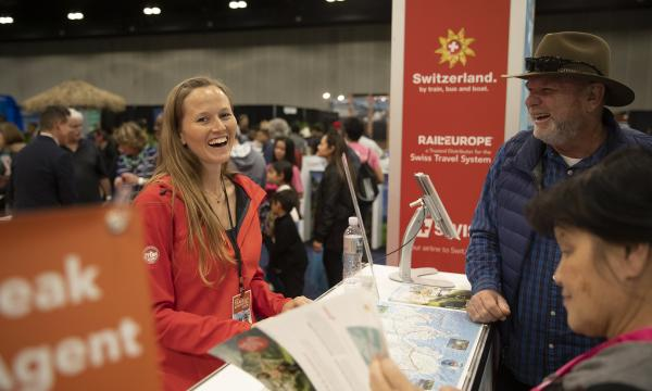 Thousands of travel experts help guests plan trips at the LA Travel & Adventure Show.