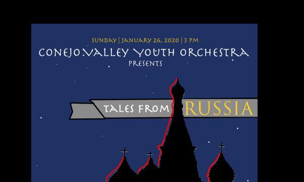 Main image for event titled Conejo Valley Youth Orchestra Presents Tales From Russia