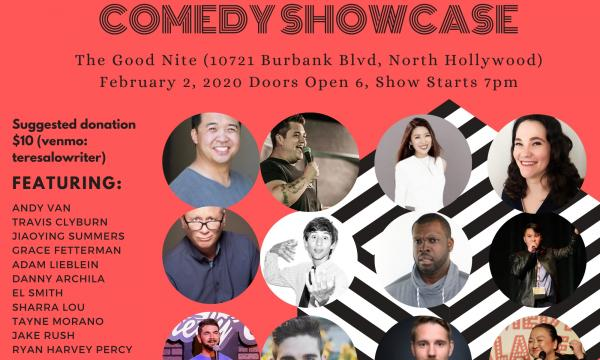 Teresa Lo's Noho Comedy Showcase (February 2020)